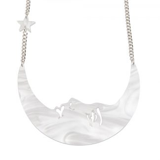 La Luna Moon Necklace - Pearl