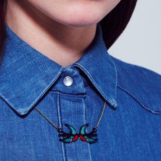 Tatty Devine Swallow Necklace