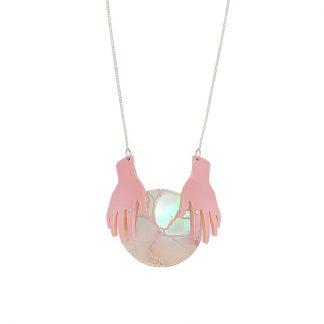 Tatty Devine Plasma Globe Necklace