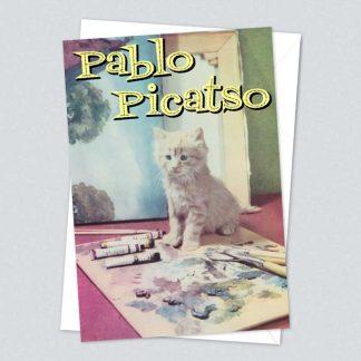 Kiss me Kwik card - Picatso