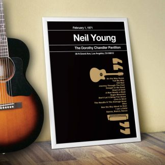 Stereotypist print - Neil Young