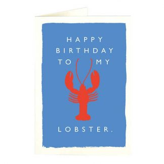 Happy Birthday to my Lobster