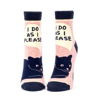 I Do As I Please Socks