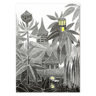 Mysterious Moominvalley at Dusk Print