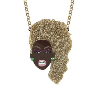 RuPaul Necklace by Lou Taylor