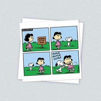 Snoopy Card - Beware of the Dog