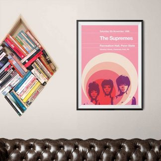 Stereotypist Print - The Supremes