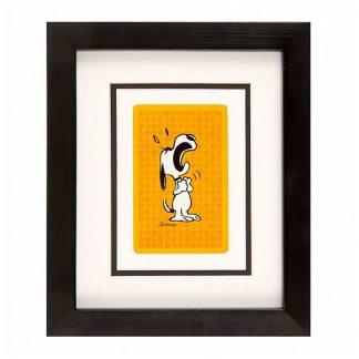 Vintage card - Emotional Snoopy