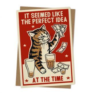Perfect Idea Greetings Card