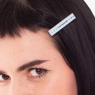 Tatty Devine Measuring Tape Hair Slide