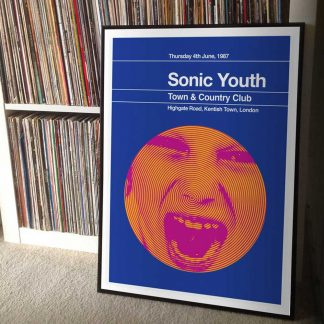 Stereotypist Print - Sonic Youth