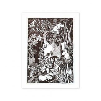 Moominhouse is a Jungle Print