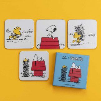 Peanuts Coasters - House