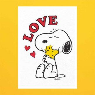 Peanuts Tea Towel - Love