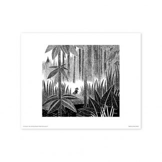 Snufkin in the Forest Print