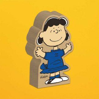Lucy Wooden Block Figure