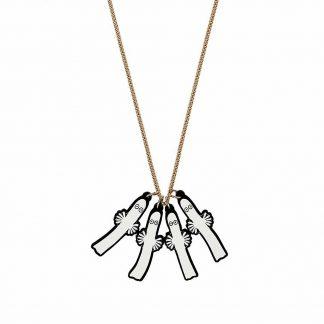 Tatty Devine Hattifattener Necklace