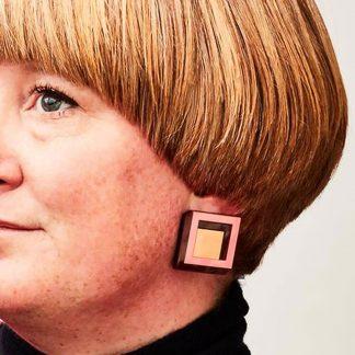 Cube Earrings