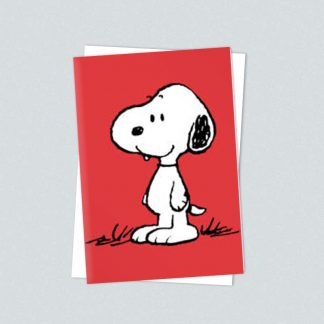 Snoopy minicard standing