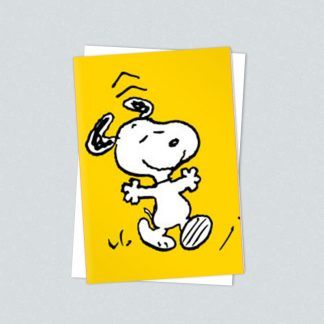Snoopy minicards dancing