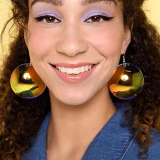 Tatty Devine Irridescent Bubble Earrings