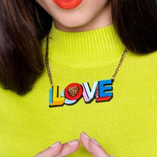 Tatty Devine Love Necklace