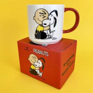 Peanuts Mug - Happiness is a warm puppy