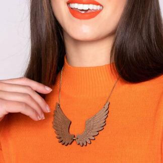 Tatty Devine Pegasus Large Necklace (wood)