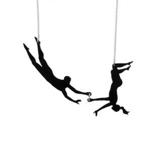 Tatty Devine Trapeze Necklace