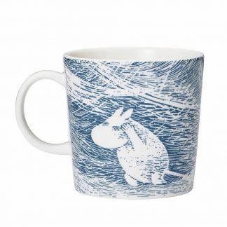 Moomin Winter 2020 mug, Snow Blizzard