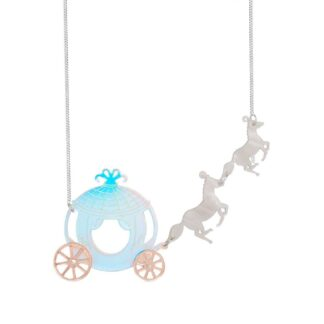 Tatty Devine Horse and Carriage Necklace