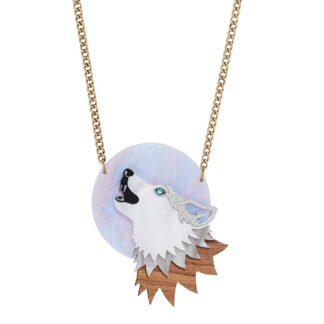 Tatty Devine Moonlit Wolf Necklace