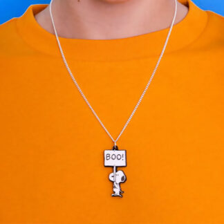 Tatty Devine Snoopy Boo Necklace