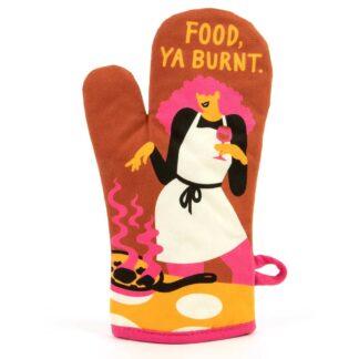Food, Ya Burnt Oven Mitt
