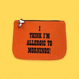 Peanuts Pouch, Mornings