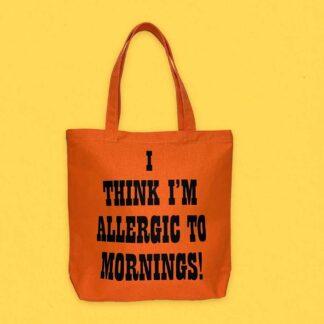 Peanuts Tote Bag, Mornings