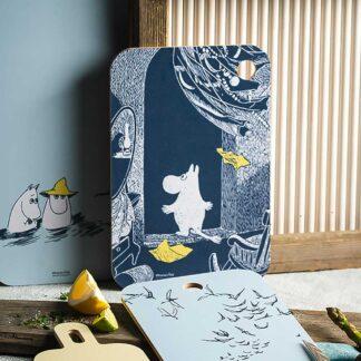 Moomin Chopping Board, The Unfamiliar Home