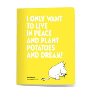 Plant Potatoes Mini Notebook