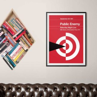 Stereotypist Print - Public Enemy