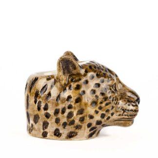 Leopard Face Egg Cup