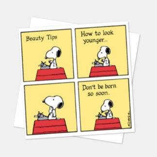 Snoopy Beauty Tips
