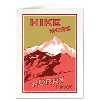 Hike More Greetings Card