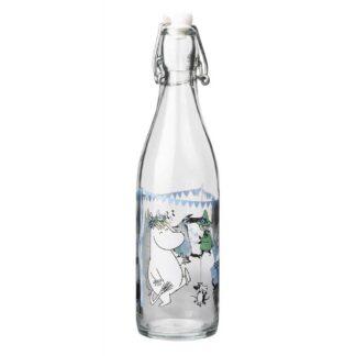 Moomin Glass Bottle, Summer Party