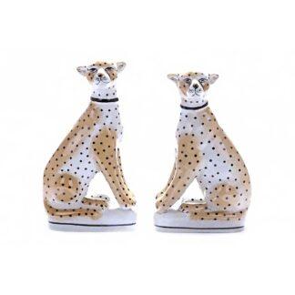 Vintage Safari Leopard Ornament