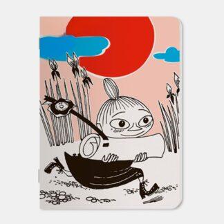 Moomin Mini Notebook - Little My Running