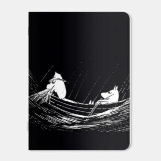 Moomin Mini Notebook - Fighting the Sea