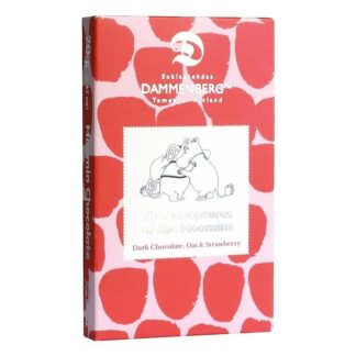 Moomintroll and Snorkmaiden Oat and Strawberry Chocolate