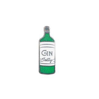 Tatty Devine Enamel Gin Brooch