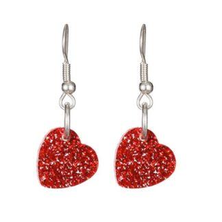 Tatty Devine Heart Charm Earrings