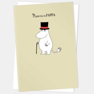 Moominpapa Greetings Card